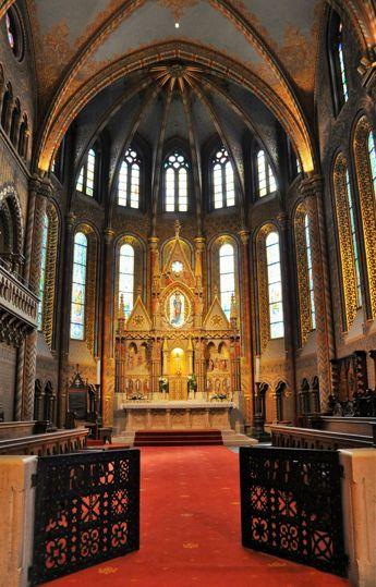 Mátyás templom
