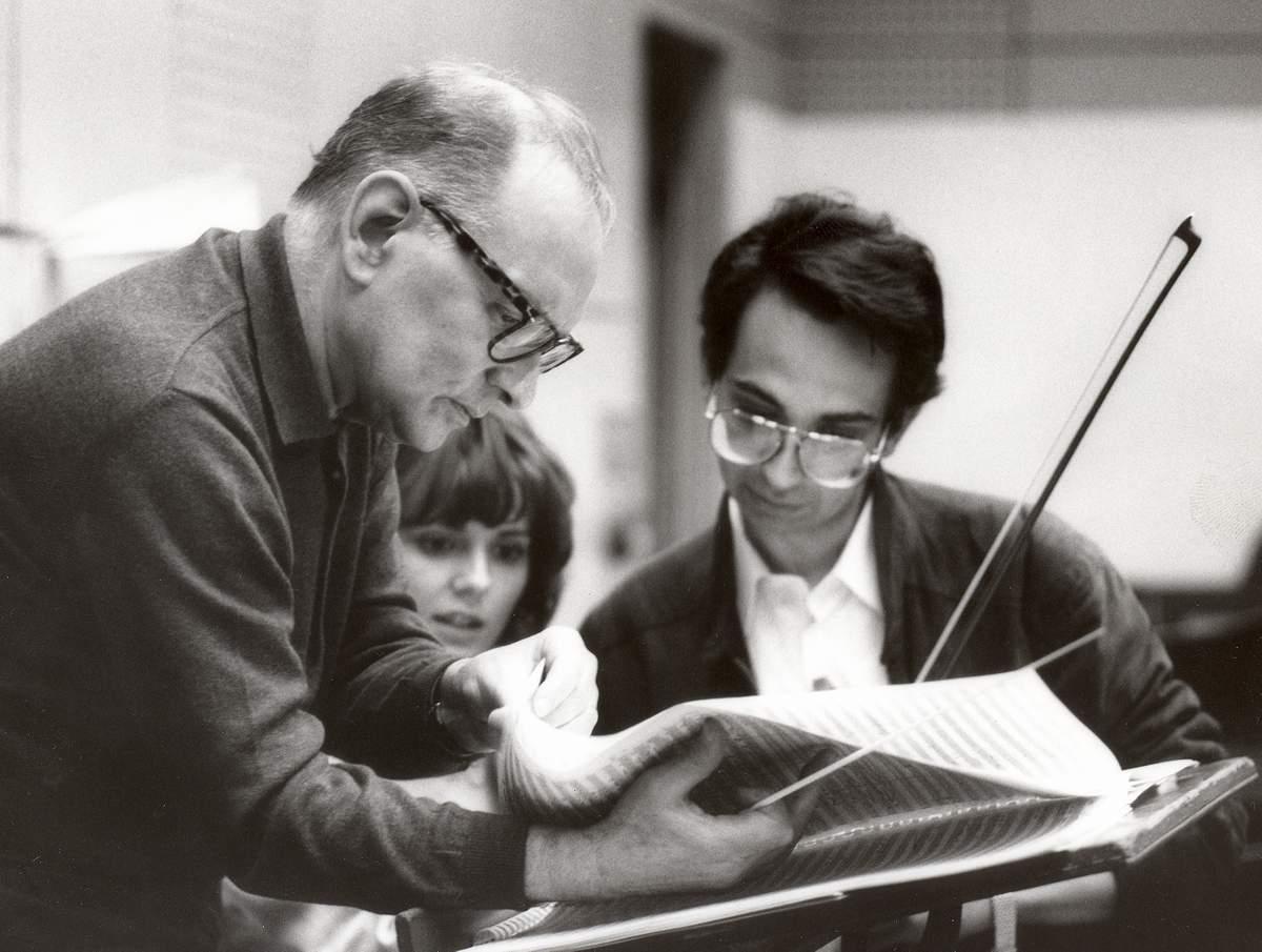 Ennio Morricone és Nagy Béla